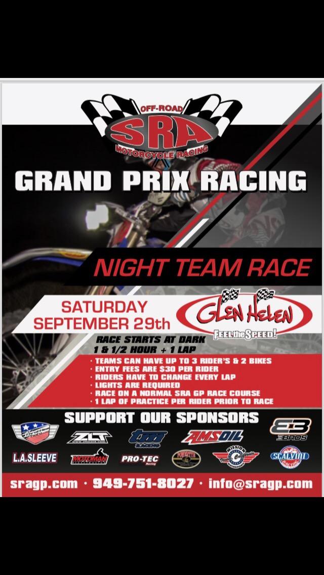 Night Race Brochure Image